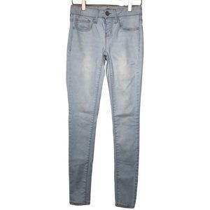 So Authentic Size 1 / 24 Jeggings Light Denim wash Skinny Ankle Jeans Women's